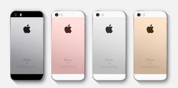iphone se kleuren van de achterkant